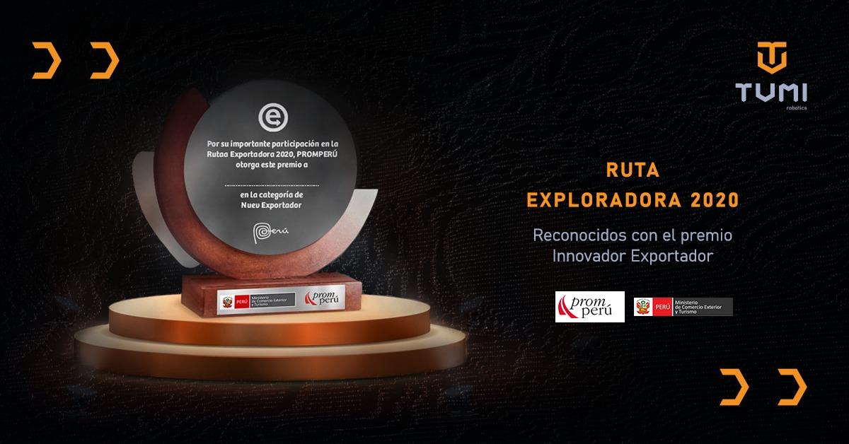 Premio Innovador Exportador en La Ruta Exportadora 2020